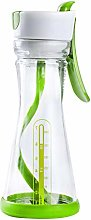 Nogan Dressing Shaker Bottle BPAfreeEasy to Clean