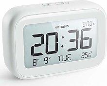 NOKLEAD Digital Alarm Clock for Bedroom Travel