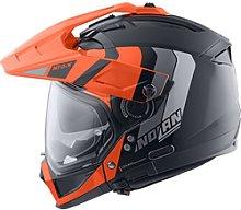 Nolan N70-2 X Dekurio N-Com Enduro Helmet orange S