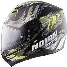 Nolan N87 Carnival n-com Full-Face Helmet gray XS