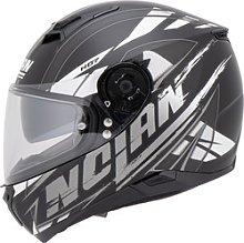 Nolan N87 Fulmen n-com Full-Face Helmet white XS