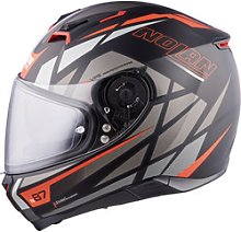 Nolan N87 Originality n-com Full-Face Helmet gray L