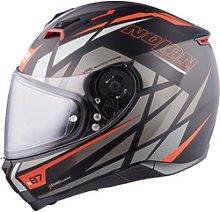 Nolan N87 Originality n-com Full-Face Helmet gray