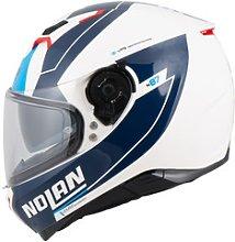 NOLAN N87 Skilled n-com Full-Face Helmet blue L