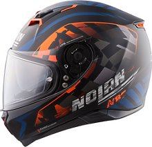 Nolan N87 Venator n-com Full-Face Helmet blue XS