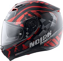 Nolan N87 Venator n-com Full-Face Helmet red XXL