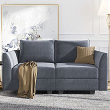 Nolany Modern Loveseat Sofa 2 Seater Couch with