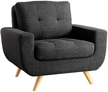 Nolin Club Chair ClassicLiving Upholstery Colour: