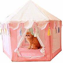 Nologo Anybz Dog calming bed Hexagon pet tent pet