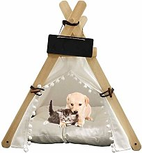 Nologo Anybz Pet bed Pet House Nest with Mat Dog