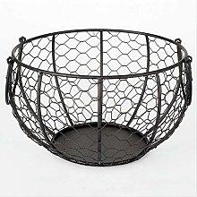 Nologo Ceramic Egg Basket Fruit Basket Garlic