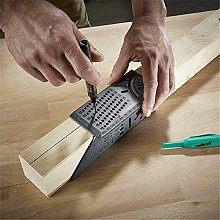 NOLOGO HHTC Wood Working Ruler 3D Mitre Angle