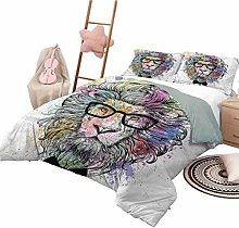 Nomorer Quilt Bedding Set Queen Size Girls