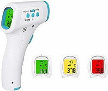 Non-Contact IR Thermometer, 3 Colors Backlight,