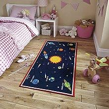 Non Slip Area Carpet Polyester Floor Rug for