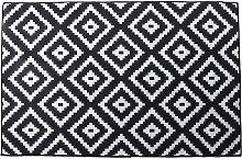 Non-slip Area Rug Floor mat Black room runner 120