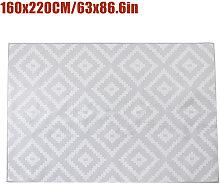 Non-slip Area Rug Floor mat Gray hall runner 160 *