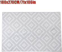 Non-slip Area Rug Floor mat Gray hall runner 180 *