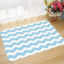 Non-slip bath mat floor mat 45 x 75 cm Light