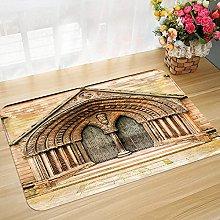 Non-slip bath mat floor mat 45 x 75 cm Rustic