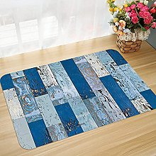 Non-slip bath mat floor mat 45 x 75 cm Wood
