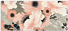 Non-Slip Insulation Table Mat Rose Abstract