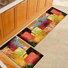 Non-Slip Kitchen Door Mat Home Floor Rug Carpet
