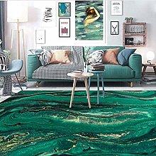 Non-slip mat - Nordic Modern Abstract Emerald