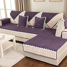 Non-Slip Sofa Cover L Shape Couch Cover 1/2/3/4