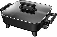 Non-Stick Electric Skillet with Aluminum Body,