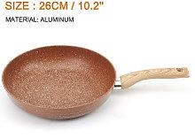 Non Stick Frying Cooking Pan Aluminum Metallic