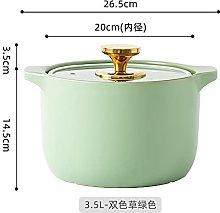 Non-Stick pan Creative Crock Pot Casserole Ceramic