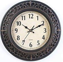 Non-Ticking Wooden Modern Nostalgia Wall Clock DIY