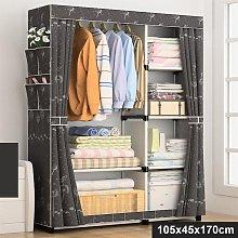 Non Woven Fabric Wardrobe Home Clothes Closet