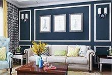 Non-Woven Wallpaper Modern Long Fiber Solid Color