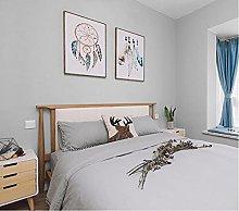 Non-Woven Wallpaper Simple and Warm Pure Pigment