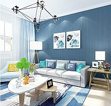 Non-Woven Wallpaper Simple Plain Solid Color