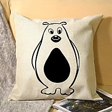 Nonbrand Pillowcase Single Sided, Regular Bear