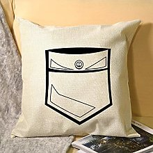 Nonbrand Pillowcase Single Sided, Regular Point