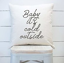 None Brand Baby Its Cold Outside Farmhouse