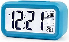 None/Brand Digital Alarm Clock, Smart Night Light