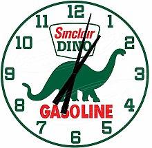 None Brand Sinclair Dino Gasoline Gas Station Wall