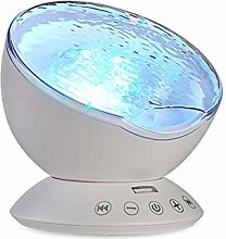 None branded Night light projector, ocean LED