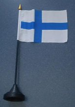 None Finland Country Desk Table Top Flag