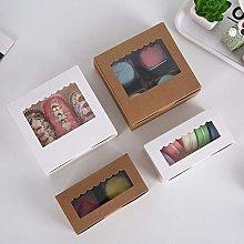 Nonebranded Brown Kraft Paper Bakery Boxes