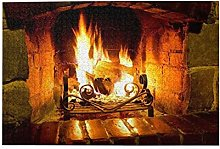 Nongmei Jigsaw Puzzles 1000 Pieces,Fireplace,Adult