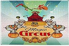Nongmei Jigsaw Puzzles 1000 Pieces,Magic Traveling