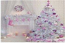 Nongmei Jigsaw Puzzles 1000 Pieces,Xmas Merry