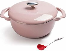 Nonstick Enamel Cookware Crock Pot, Enameled Cast