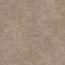 Noordwand Wallpaper Croco Taupe - Brown